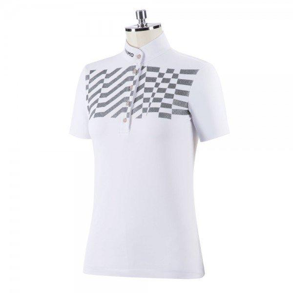 Animo Turniershirt Damen Boptic FS21, kurzarm, Glitzer