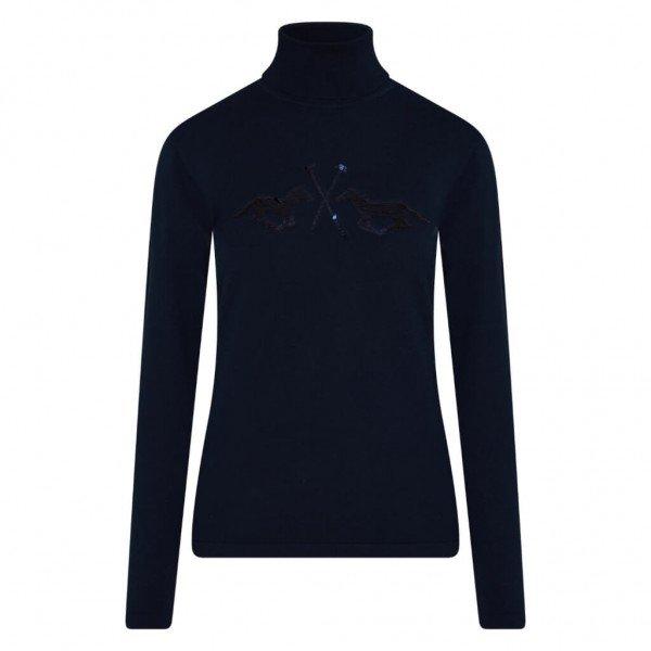 HV Polo Pullover Damen HVPMaud HW21, Rolllkragen, langarm
