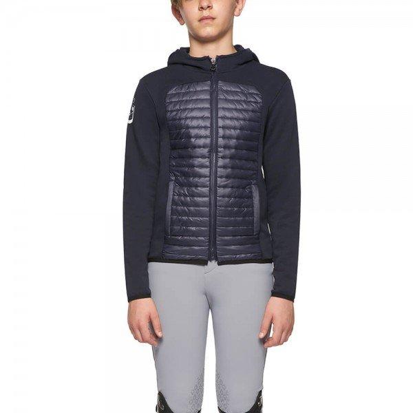 Cavalleria Toscana Jacke Kinder Quilted Nylon Hooded Zip Jacket FS21