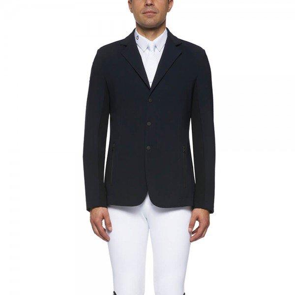 Cavalleria Toscana Sakko Herren Tech Knit Zip Riding Jacket FS21, Turniersakko, Turnierjacket