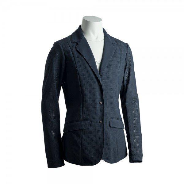 Cavalleria Toscana Sakko Mädchen Fully Perforated Riding Jacket FS21, Turniersakko, Turnierjacket
