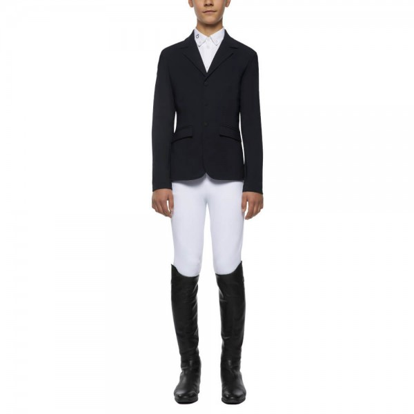 Cavalleria Toscana Sakko Jungen Lightweight Jersey Zip Riding FS21, Turniersakko, Turnierjacket