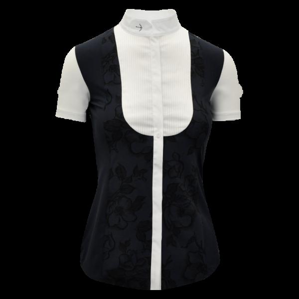 Laguson Turniershirt Damen Romy FS21, Turnierbluse, kurzarm
