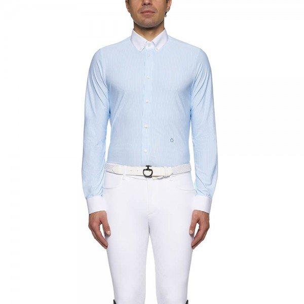 Cavalleria Toscana Turniershirt Herren Guibert Shirt L/S FS21